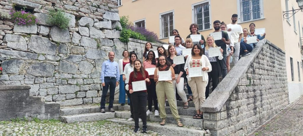 """Final picture to greet the participants of the international summer school """"Design of sustainable food systems"""""""